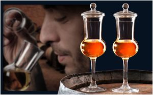 Verres boules La Part des Anges spécial dégustation whisky
